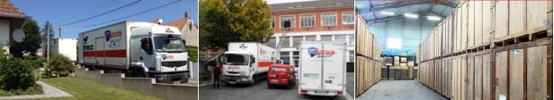 déménagement, transfert et garde-meubles