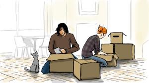 faire cartons déménagement - ARTDEM